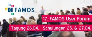 FAMOS User Forum 2018