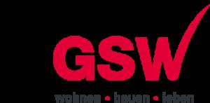 Logo der GSW Gesellschaft für Siedlungs- und Wohnungsbau Baden-Württemberg mbH