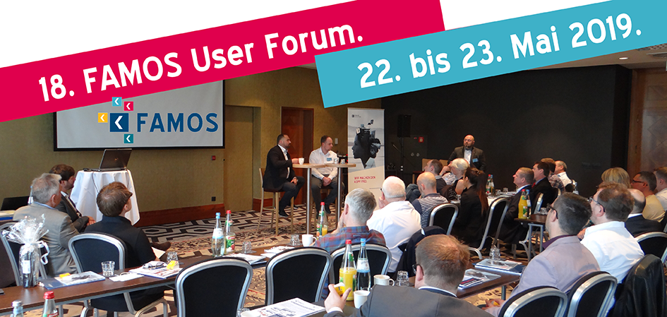 Grafik FAMOS User Forum 2019