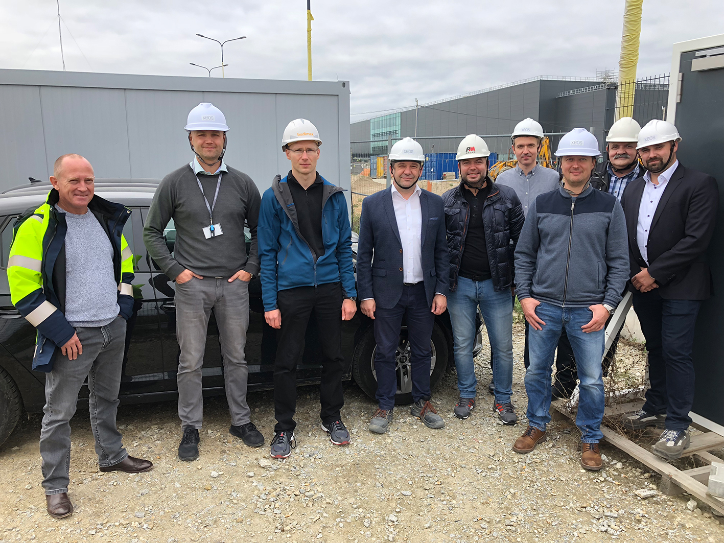 Foto: Keßler Solutions vor Ort bei XEOS, Herbst 2018