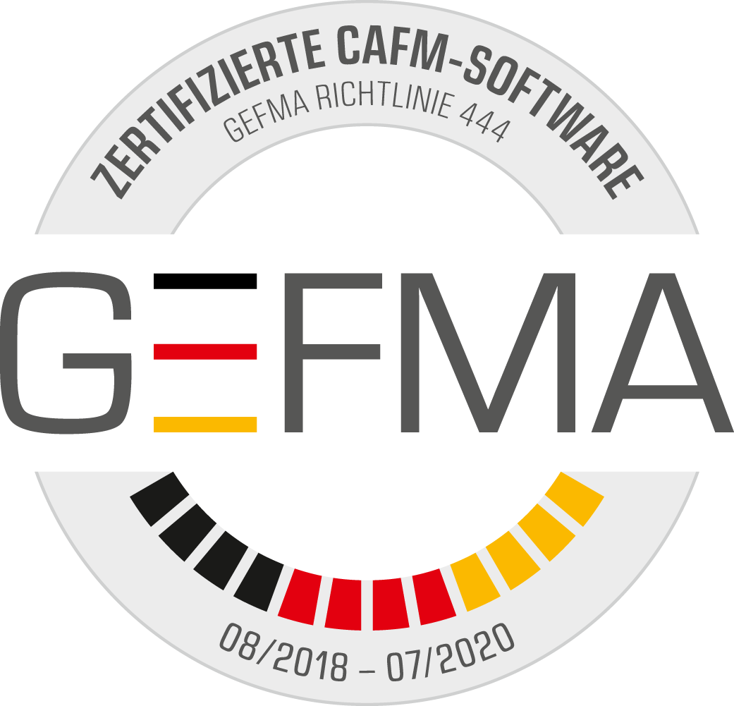 Offizielle GEFMA-Zertifizierung für FAMOS 4.4, gültig bis Juli 2020