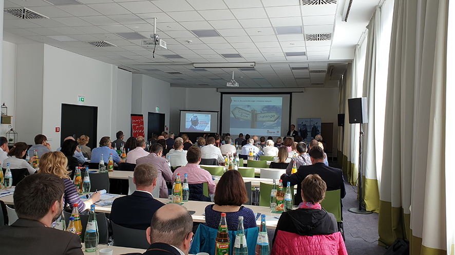 Foto FAMOS User Forum 2019: Keynote des Johanniter e.V.