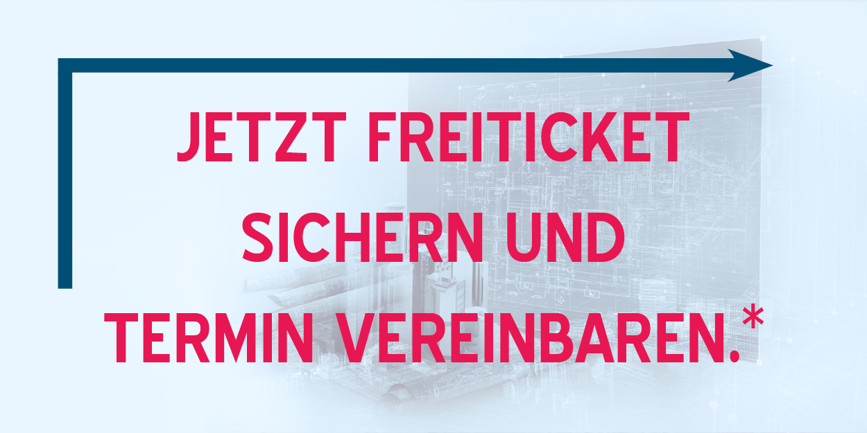 Freiticket BIM world MUNICH & Termin sichern