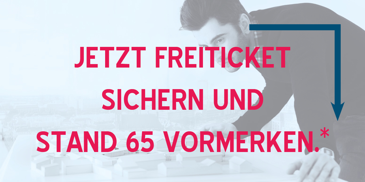 Freiticket BIM world MUNICH & Stand vormerken