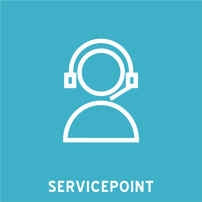 icon servicepoint web