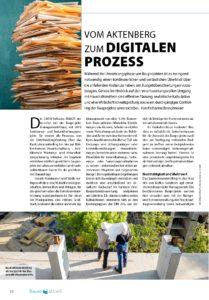 Foto von Artikel in Bauen Aktuell, Ausgabe 2-2020, Seite 26