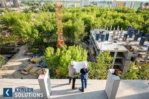 Blick auf Baustelle - Keßler Solutions - Bauprojekt-Management