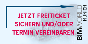 Mail-Link zum Freiticket zur BIM world VIRTUAL 2020