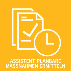 Icon Technisches FM - Modul AUFTRAG - Planbare Massnahmen ermitteln